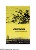 "Movie Posters:Drama, Easy Rider (Columbia, R-1972). One Sheet (27"" X 41""). This incredibly rare reissue poster is the only one to show Peter Fond..."