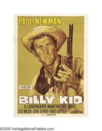 """The Left Handed Gun (Warner Brothers, R-1960s). Italian (55"""" X 77""""). Paul Newman stars in this re-telling of t..."""