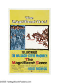 "Movie Posters:Western, The Magnificent Seven (United Artists, 1960). One Sheet (27"" X 41""). Based on Kurosawa's ""The Seven Samurai,"" what could hav..."