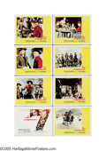 "Movie Posters:Western, The Magnificent Seven (United Artists, 1960). Lobby Card Set of 8(11"" X 14""). Remakes get a bad rap today, but when done as... (8items)"