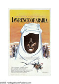 "Movie Posters:Academy Award Winner, Lawrence of Arabia (Columbia, 1962). One Sheet (27"" X 41"")Roadshow. Director David Lean was a master epic storyteller. His..."