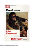 "Movie Posters:Action, Dirty Harry (Warner Brothers, 1971). Poster (40"" X 60""). ClintEastwood's ""Dirty Harry"" received his nickname since he took ..."