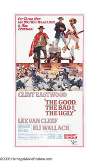 """The Good, The Bad and The Ugly (United Artists, 1968). Three Sheet (41"""" X 81""""). The end to an epic trilogy, Se..."""