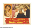 """Movie Posters:Hitchcock, Notorious (RKO, 1946). Lobby Cards (2) (11"""" X 14""""). These two cardsfeature Ingrid Bergman as an unwilling spy forced into w... (2Items)"""