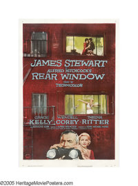 "Rear Window (Paramount, 1954). One Sheet (27"" X 41""). One of Alfred Hitchcock's best films takes the subject o..."