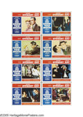 """Movie Posters:Hitchcock, The Man Who Knew Too Much (Paramount, 1956). Lobby Card Set of 8(11"""" X 14""""). Perhaps fearing that Gus Van Sant would do it ... (8items)"""