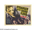 "Movie Posters:Film Noir, Stranger on the Third Floor (RKO, 1940). Title Card and Lobby Cards(2) (11"" X 14""). John McGuire, a newspaper reporter, fin... (3Items)"