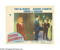 """Movie Posters:Film Noir, Double Indemnity (Paramount, 1944). Lobby Card (11"""" X 14""""). Basedon the James M. Cain novel and directed by Billy Wilder, t..."""