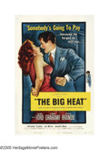 """Movie Posters:Film Noir, The Big Heat (Columbia, 1953). One Sheet (27"""" X 41""""). Glenn Ford stars in one of the most shocking film noir of the 1950..."""