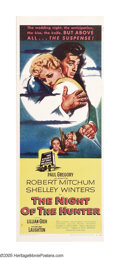 "Movie Posters:Film Noir, Night of the Hunter (United Artists, 1955). Insert (14"" X 36"").When one considers the relative inexperience of those involv..."