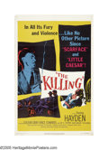 "Movie Posters:Film Noir, The Killing (United Artists, 1956). One Sheet (27"" X 41""). Thisfilm, based on the novel ""Clean Break"" by Lionel White, was ..."