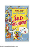 "Movie Posters:Animated, Silly Symphony (United Artists, 1933). One Sheet (27"" X 41""). Walt Disney started his ""Silly Symphony"" series in 1929 as an ..."