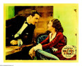"""Movie Posters:Drama, Ten Cents a Dance (Columbia, 1931). Lobby Card (11"""" X 14""""). BarbaraStanwyck gets paid ten cents a dance. She tells her ingr..."""