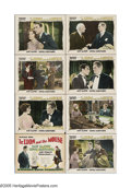 """Movie Posters:Drama, The Lion and the Mouse (Warner Brothers, 1928). Lobby Card Set of 8(11"""" X 14""""). When Judge Ross (Alec B. Francis) rules a l... (8Items)"""