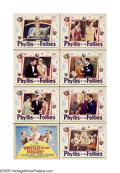"""Movie Posters:Comedy, Phyllis of the Follies (Universal, 1928). Lobby Card Set of 8 (11""""X 14""""). Nepotism can take a bow for the production of thi... (8Items)"""