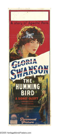 "Movie Posters:Drama, The Humming Bird (Paramount, 1924). Australian Day Bill (14.5"" X40""). Screen legend Gloria Swanson stars in this tale of a ..."