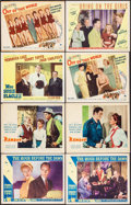 "Movie Posters:War, The Hour Before the Dawn & Other Lot (Paramount, 1944) Fine/Very Fine. Lobby Cards (8) (11"" X 14""). War.... (Total: 8 Items)"