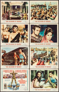 """Movie Posters:Adventure, The Colossus of Rhodes (MGM, 1961). Lobby Card Set of 8 (11"""" X 14""""). Adventure.. ... (Total: 8 Items)"""