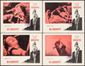"Movie Posters:Foreign, The Girl in the Bikini (Atlantis Films, 1958). Lobby Cards (4) (11"" X 14""). Foreign.. ... (Total: 4 Items)"