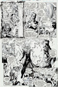 Original Comic Art:Panel Pages, Whilce Portacio and Art Thibert Uncanny X-Men #282 Page 15 Original Art (Marvel, 1991)....