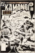 Original Comic Art:Covers, Rich Buckler and Jack Abel Kamandi, the Last Boy on Earth #51 Cover Original Art (DC, 1977)....