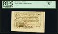 Colonial Notes, North Carolina December, 1771 £3 PCGS About New 53.. ...