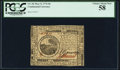 Continental Currency May 9, 1776 $6 PCGS Choice About New 58