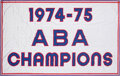 "Basketball Collectibles:Others, 1974-75 Kentucky Colonels ""ABA Champions"" Banner From Freedom Hall...."