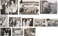 Baseball Collectibles:Photos, 1955 Casey Stengel Tour of Japan Photograph Lot of 98....