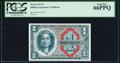 Military Payment Certificates:Series 611, Series 611 $1 PCGS Gem New 66PPQ.. ...