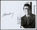 """Movie Posters:Miscellaneous, Rod Serling (1970s). Autographed Photo (8"""" X 10""""). Miscellaneous.. ..."""