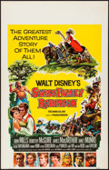 """Movie Posters:Adventure, Swiss Family Robinson (Buena Vista, 1960). Window Card (14"""" X 22"""") & Uncut Pressbooks (2) (Multiple Pages, 11"""" X 15""""). Adven... (Total: 3 Items)"""