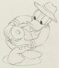 Animation Art:Production Drawing, Honey Harvester Donald Duck Animation Drawing (Walt Disney,1949). ...
