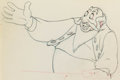 Animation Art:Production Drawing, Pinocchio Stromboli and Pinocchio Animation Drawings Groupof 2 (Walt Disney, 1940).... (Total: 2 )