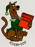 "Animation Art:Color Model, Scooby-Doo ""Bedtime Stories"" Color Model Cel (Hanna-Barbera, c.1980s)...."