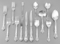 Silver & Vertu:Flatware, A Ninety-Five Piece Gorham King Edward Pattern Silver Flatware Service, Providence, Rhode Island, designed 1936... (Total: 95 Items)