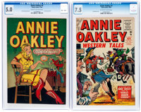Annie Oakley #4 and 7 CGC-Graded Group (Timely/Atlas, 1948-55).... (Total: 2 Comic Books)