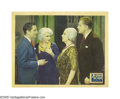 "Movie Posters:Drama, Platinum Blonde (Columbia, 1931). Lobby Card (11"" X 14""). JeanHarlow introduces Robert Williams to her parents in this extr..."