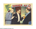 """Movie Posters:Comedy, Dinner at Eight (MGM, 1933). Lobby Cards (2) (11"""" X 14""""). After the Oscar success of """"Grand Hotel"""" the year before, MGM deci... (2 Items)"""