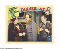 "Movie Posters:Comedy, Dinner at Eight (MGM, 1933). Lobby Cards (2) (11"" X 14""). Marie Dressler appears in two scenes from ""Dinner at Eight."" One o... (2 Items)"