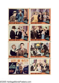 "Movie Posters:Comedy, Let's Be Ritzy (Universal, 1934). Lobby Card Set of 8 (11"" X 14"").Halfway between ""All Quiet on the Western Front"" and his ... (8Items)"