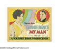 "Movie Posters:Musical, My Man (Warner Brothers, 1928). Title Lobby Card and Lobby Cards(3) (11"" X 14""). In her film debut, comedy legend Fanny Bri... (4Items)"