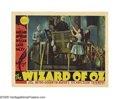 "Movie Posters:Musical, The Wizard of Oz (MGM, 1939). Lobby Card (11"" X 14"").""And I herebydecree that until what time, if any, that I return, the S..."