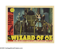 "The Wizard of Oz (MGM, 1939). Lobby Card (11"" X 14"").""And I hereby decree that until what time, if any, t..."