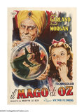 "Movie Posters:Musical, The Wizard of Oz (MGM, 1939). Italian (39"" X 55""). Time has been powerless to erase the enduring magic of this wonderful fil..."