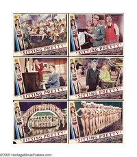"""Sitting Pretty (Paramount, 1933). Lobby Cards (6) (11"""" X 14""""). The Jacks (Oakie& Haley) star in this m..."""