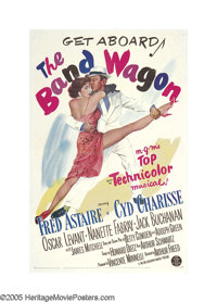 """The Band Wagon (MGM, 1953). One Sheet (27"""" X 41""""). Fred Astaire plays Tony Hunter, a fading movie star who dec..."""