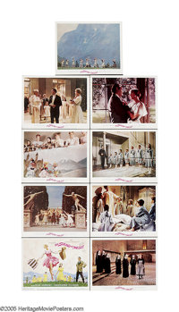 """The Sound Of Music (20th Century Fox, 1965). Lobby Card Set of 9 (11"""" X 14""""). With music by Rodgers and Hammer..."""