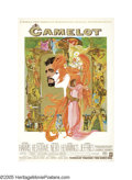 "Movie Posters:Musical, Camelot (Warner Brothers, 1966). Poster (40"" X 60"") Roadshow. The legend of King Arthur and the Knights of the Round Table i..."
