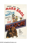 """Movie Posters:Comedy, The Big Store (MGM, 1941). One Sheet (27"""" X 41"""") Style D. Cookedbooks and zany antics keep this Marx Brothers comedy a fan ..."""